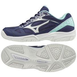Mizuno Miznuno Cyclone Speed 2 W V1GC198015 schoenen marine marineblauw