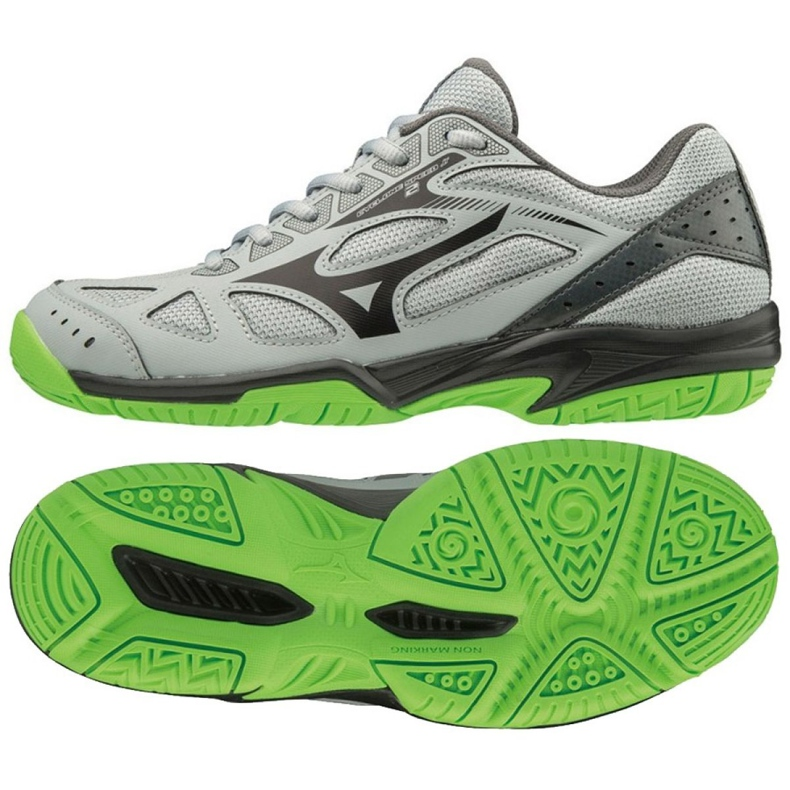 Mizuno Cyclone Speed 2 Jr V1GD191037 schoenen grijs grijs / zilver