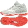 Mizuno Wave Hurricane 3 Mid W V1GC174560 schoenen wit wit
