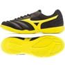 Mizuno Morelia Sala Club In M Q1GA190345 indoorschoenen zwart zwart