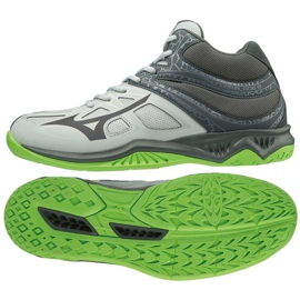 Mizuno Thunder Blade 2 Mid M V1GA197537 schoenen grijs