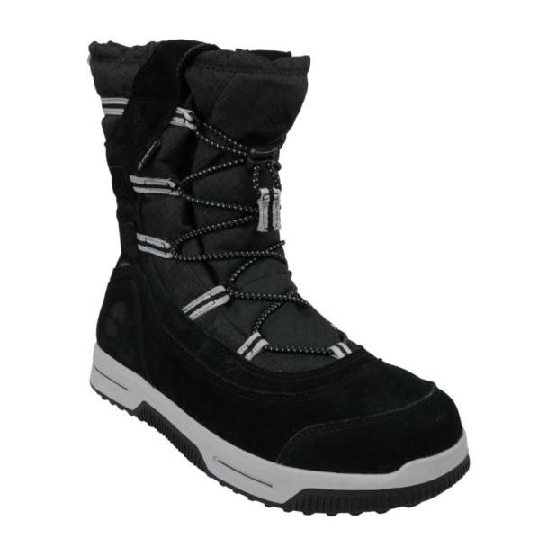 Timberland Snow Stomper Pull On Wp Jr A1UIK winterschoenen zwart