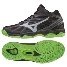 Mizuno Wave Hurricane 3 Mid M V1GA174537 schoenen zwart zwart
