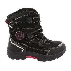 American Club Amerikaanse HL23 zwarte laarzen met een membraan