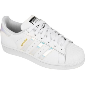 Adidas Originals Superstar Jr AQ6278 schoenen wit