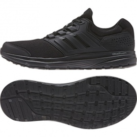 Adidas Galaxy 4 M CP8822 hardloopschoenen zwart