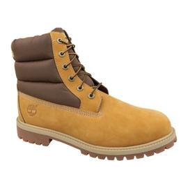 Timberland 6 In Quilit Boot Jr C1790R winterlaarzen bruin