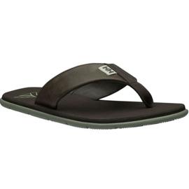 Helly Hansen Seasand lederen sandaal M 11495-713 slippers bruin