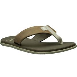 Helly Hansen Seasand lederen sandaal M 11495-723 slippers bruin