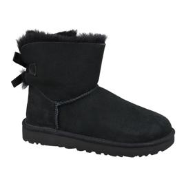 Ugg Mini Bailey Bow Ii W 1016501-BLK schoenen zwart