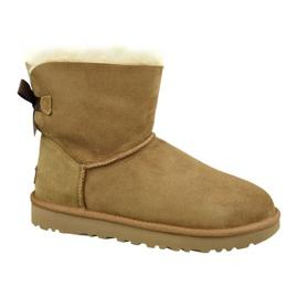 Ugg Mini Bailey Bow Ii W 1016501-CHE schoenen bruin