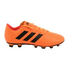 Voetbalschoenen adidas Nemeziz 18.4 FxG M DA9594 oranje