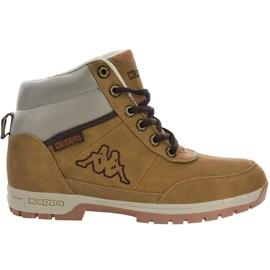 Kappa Bright Mid Jr 260239T 4141 schoenen bruin