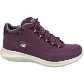 Skechers Ultra Flex W 12918-BURG schoenen purper