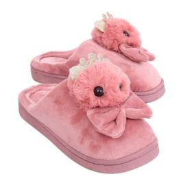 Vuile roze damessloffen DD112 Roze