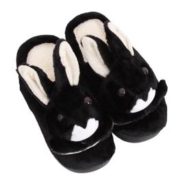 Zwarte MA17 zwarte damespantoffels
