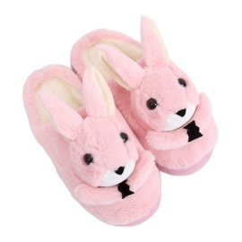 Bunnies pantoffels dames licht roze MA17 roze