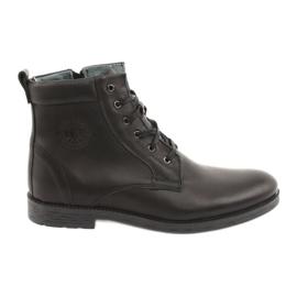 Hoge laarzen met rits Riko 884 zwart