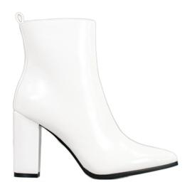 Seastar Lederen laarzen wit