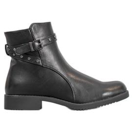 J. Star Geïsoleerde zwarte laarzen