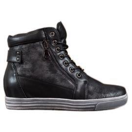 Sergio Leone Zwarte sneakers