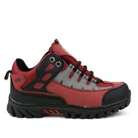 Rode damesschoenen W317
