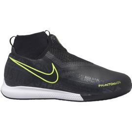 Nike Phantom Vsn Academy Df Ic Jr AO3290 007 voetbalschoenen zwart zwart