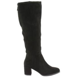 Zwarte Sergio leone laarzen
