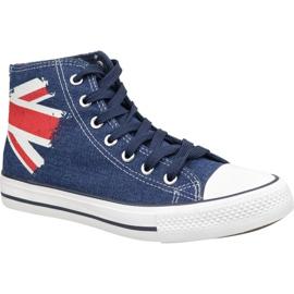 Lee Cooper High Cut 1 LCWL-19-530-041 schoenen blauw