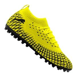 Puma Future 4.2 Netfit Mg M 105681-02 voetbalschoenen geel