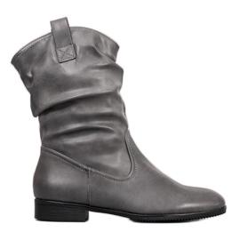 Sergio Leone Grijze cowboylaarzen grijs