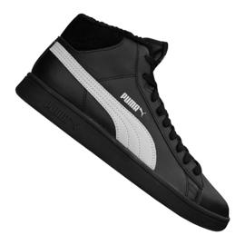 Puma Smash V2 Mid L Fur Jr 366895-05 schoenen zwart