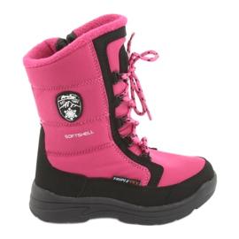 American Club Sneeuwlaarzen met Amerikaans club SN13 membraan roze / zwart