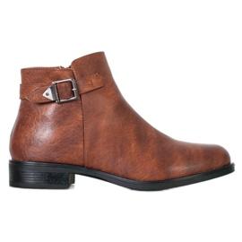 Small Swan Klassieke lage laarzen bruin