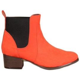 Kylie Klassieke Jodhpur-laarzen oranje