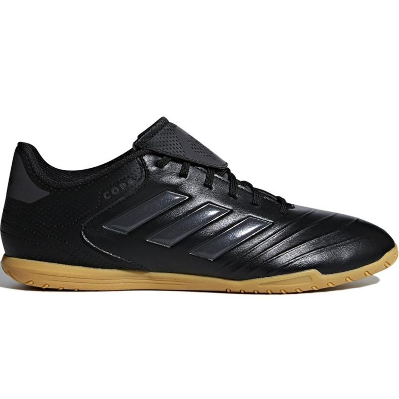 M adidas Copa Tango 18.4 In CP8965 voetbalschoenen zwart zwart