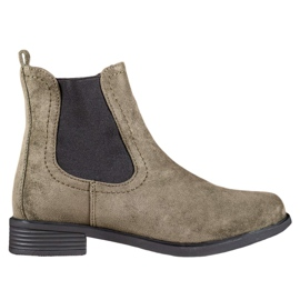 Ideal Shoes Casual Jodhpur-laarzen groen