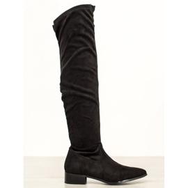 Seastar Casual laarzen over de knie zwart