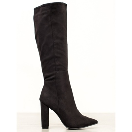 Seastar Sexy suede laarzen zwart
