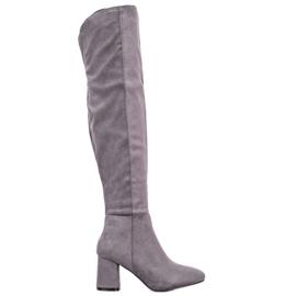 Seastar Elegante hoge laarzen grijs