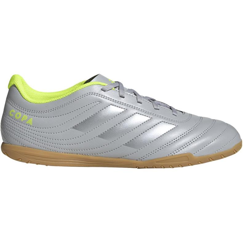 M adidas Copa 20.4 In EF8351 voetbalschoenen grijs grijs / zilver