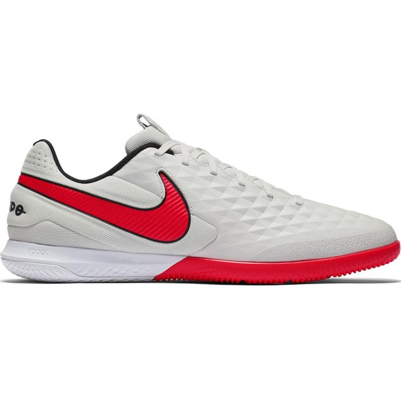 Nike Tiempo React Legend 8 Pro M Ic AT6134 061 voetbalschoenen beige beige / creme, rood