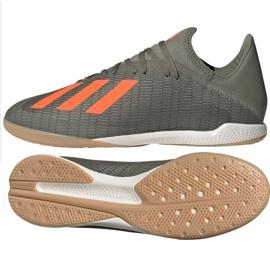 Adidas X 19.3 In M EF8367 indoorschoenen grijs grijs / zilver
