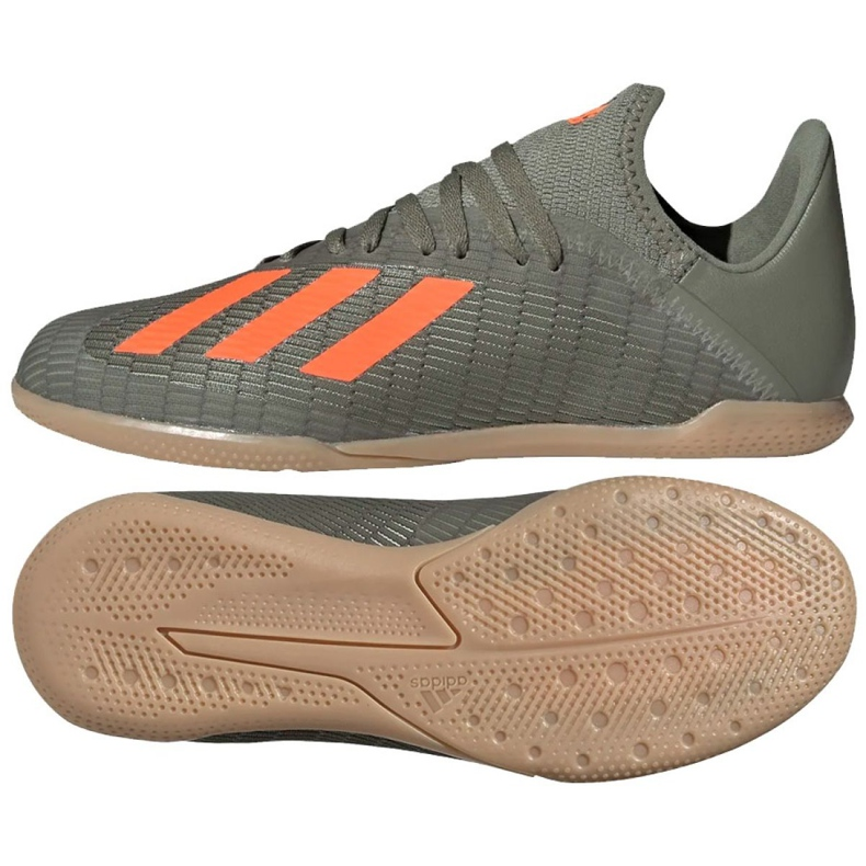 Adidas X 19.3 In Jr EF8376 indoorschoenen grijs grijs / zilver