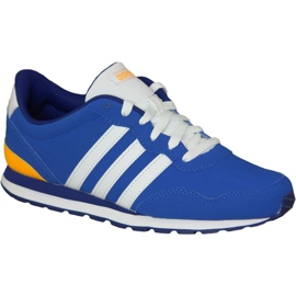 Adidas V Jog AW4835-schoenen voor kinderen blauw