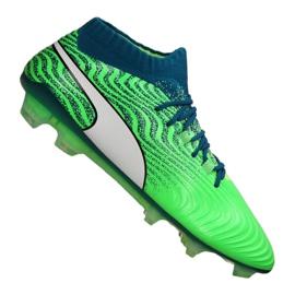 Puma One 18.1 Fg M 104869-03 voetbalschoenen groen groen