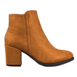 Clowse Klassieke kameel laarzen bruin