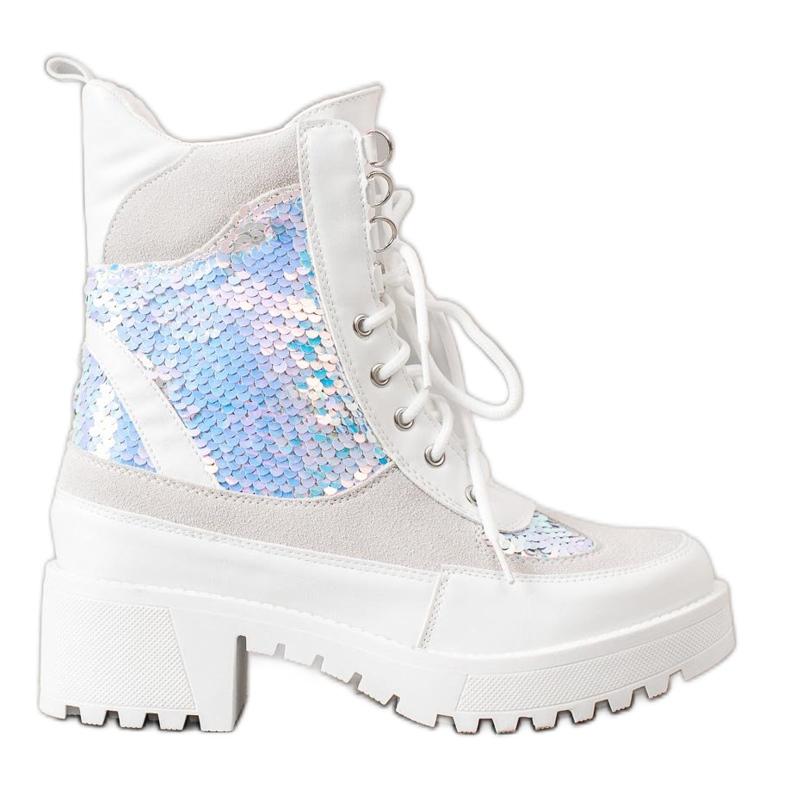 Seastar Laarzen Op Modeplatform wit