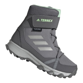 Adidas Terrex Snow Cf Cp Cw Jr G26580 schoenen grijs
