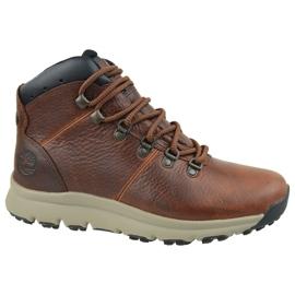 Timberland World Hiker Mid M A213Q schoenen bruin